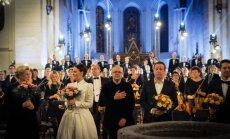 Foto: Ar pirmatskaņojumu Baltijā noslēdzies Starptautiskais garīgās mūzikas festivāls