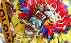 Фанат из Колумбии потерял работу, выпив на стадионе в Саранске спиртное из бинокля