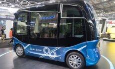 'Baidu' uzsāk bezpilota autobusu masveida ražošanu