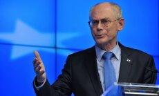 ES varētu atteikties no jaunām sankcijām pret Krieviju, pieļauj Rompejs