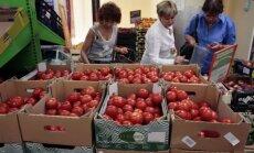 Krievijas iedzīvotāji aktīvi iepērkas Narvas veikalos