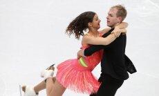 Latvijas deju pārim Ipolito un Džonsam pieticīgs sniegums EČ daiļslidošanā