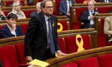 Katalonijas separātistu kandidātam neizdodas kļūt par jauno premjeru