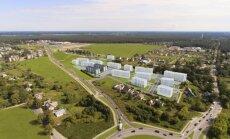 Шведский девелопер вложит 40 млн евро в строительство 16 жилых многоэтажек на границе Риги