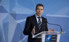 Rasmusens: NATO nepiedalīsies uzbrukumā Sīrijai