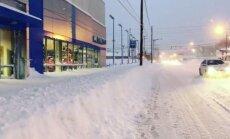 Video: ASV pilsētiņa piedzīvo pārāk baltus Ziemassvētkus