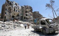 Sīrijas valdības spēki atkarojuši Alepo vecpilsētu
