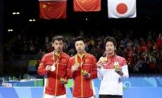 Ķīnai vēl viena dubultuzvara galda tenisa turnīrā