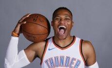 Vestbruks un 'Thunder' panākuši vienošanos par visu laiku iespaidīgāko līgumu NBA vēsturē