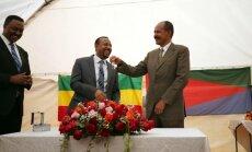 Pēc 20 gadu pauzes Eritrejā atvērta Etiopijas vēstniecība