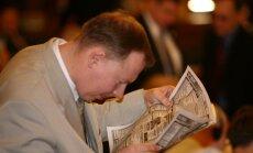 Žurnālists un bijušais Saeimas deputāts Kabanovs izdevis grāmatu 'Latvijas diplomātijas noslēpumi'
