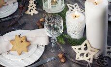 Vienkārši, bet oriģināli – ātri īstenojamas idejas galda klājumam Ziemassvētkos