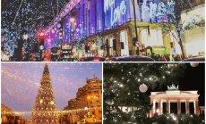Ziemīgi foto: Kā dažādas pasaules pilsētas gatavojas Ziemassvētkiem