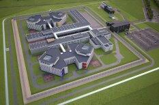 Визуализировано: Новая лиепайская тюрьма, в которую будут стремиться все зэки Латвии