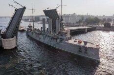 Krievija atjaunošanai atkal kustina leģendāro kreiseri 'Aurora'