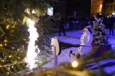 На Ратушной площади так зажгли ёлку, что попали в Книгу рекордов Гиннесса