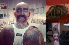 18 самых страшно-прекрасных татуировок из всех, что ты когда-либо видел