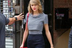 Учитесь, девушки: Тейлор Свифт умудряется покидать спортзал с идеальным макияжем