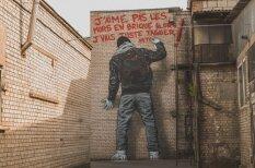 """В Риге появились """"долгоиграющие"""" граффити"""