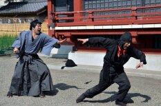 Tokijas pilsētas apskati papildina nindzu kaujas