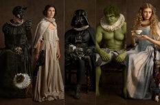 Визуализировано: как современные супергерои выглядели бы в XV-XVII веках