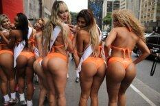 Foto: Smukie dupši rada jucekli Sanpaulu ielās
