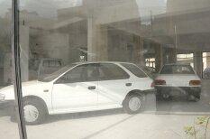 """ФОТО, ВИДЕО. Как выглядит заброшенный с 1990-х годов """"магазин"""" Subaru с новыми авто"""