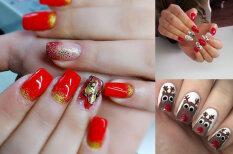 Празднично, до кончиков пальцев: 21 способ украсить свои ногти к Рождеству