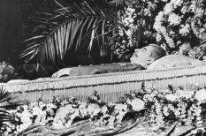 Vēsturiski kadri: Tautu vadoņa Josifa Staļina bēres
