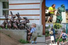 Идея для отпуска: 22 примера того, как фото с памятником можно сделать забавным