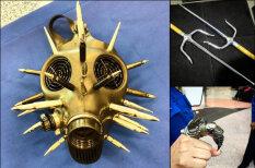 Нож, сай и золотой противогаз: 18 ФОТО дикого оружия, которое люди тащили на борт самолета