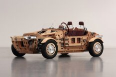 Radīts auto, ar ko gribēs braukt pat rūdītākie velosipēdu fani