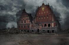 Визуализация: Рига, Москва и иные столицы после третьей мировой войны