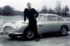 Cik maksā Džeimsa Bonda auto? 10 visu laiku dārgākie kino artefakti