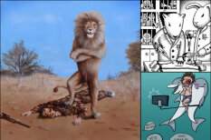 Что будет, если людей и животных поменять местами — 12 шокирующих картинок