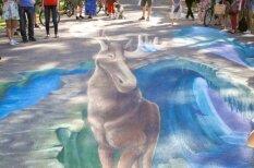 В Межапарке нарисовали 3D-граффити и померялись Ghetto Dance