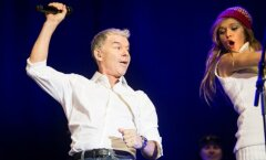 Олег Газманов просит отозваться зрителей своего концерта в Даугавпилсе
