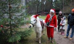 Foto: Mazbānīša Ziemassvētki brīvdabas muzejā Ventspilī