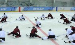 Еще один хоккеист сборной Латвии подозревается в применении допинга