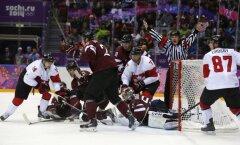 Матч Латвия— Канада в Сочи установил новый рекорд телеаудитории