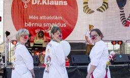Dakteru Klaunu labdarības programmai saziedoti vairāk nekā 38 tūkstoši eiro