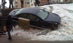 Nejēdzīgs atgadījums ar Volvo