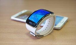 Тест DELFI: Часы-смартфон Samsung Gear S — демонстрация силы