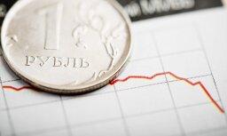 Курс рубля падает на фоне сообщений о новых сакциях США в отношении России