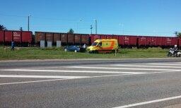 Трагическая авария на переезде: водитель проезжал на красный сигнал