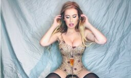 'Playboy' modele jau svētku noskaņojumā