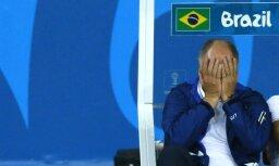 Тренер сборной Бразилии Сколари отправлен в отставку