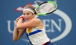Ostapenko kļūst par pirmo Latvijas tenisisti WTA ranga TOP10