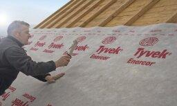 Domā divreiz, būvē vienreiz – celtniecības plēves drošam un ilgtspējīgam jumtam