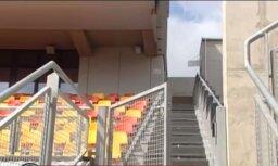"LTV7: стадион ""Даугава"" критикуют паралимпийцы"